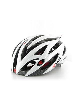 Ekoi Casco de ciclismo Diablo (negro/blanco)