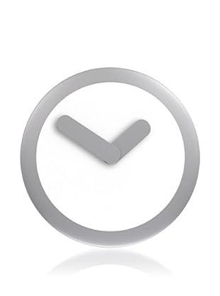 NeXtime Focus Wall Clock (Silver/Black)
