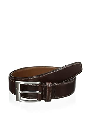 J.Campbell Los Angeles Men's Double-Stitched Belt (Brown)