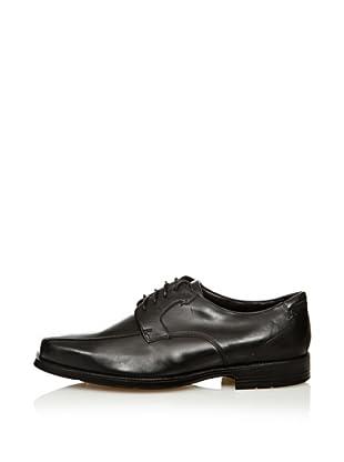Rocqua Publishing Rb Bike Toe - Zapatos de cuero para hombre (Negro)