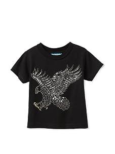 Born 4 Couture Boy's Eagle Talons Short Sleeve T-Shirt (Black)