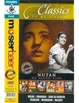 Classics for My Library - Nutan (Milan/Khandan/Sone Ki Chidiya/Yaadgar/Meherban/Basant)