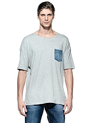 Diesel Camiseta T-Thunder (Gris)