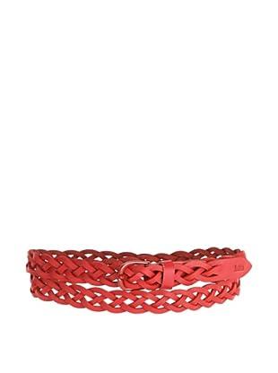 Lee Cinturón Colour (Rojo)