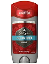 Old Spice Red Zone Collection Aqua Reef Scent Men's Deodorant 3 Oz