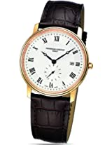 Frederique Constant Analogue Silver Dial Men's Watch - FC-245M5S5
