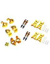 Redcat Racing Part E18 Mst Volcano 18 Gold Aluminum Hop Up Kit For Volcano 18