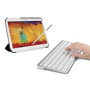 SPARIN Ultra Slim Mini Bluetooth Keyboard - White