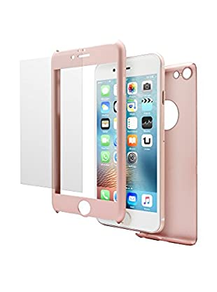 UNOTEC Schutz-Set iPhone 6/6S rosa