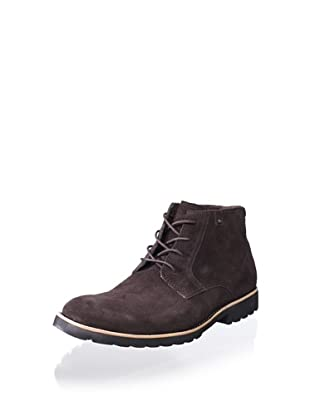 Rockport Men's Ledge Hill Lace-Up Boot (Bitter Chocolate Suede)
