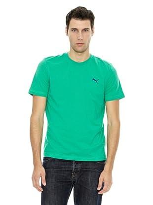 Puma Camiseta ESS Tee (Verde)