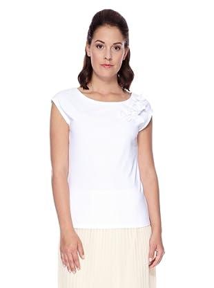 UNQ Jersey-Top (Weiß)