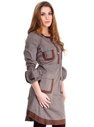 Almatrichi Vestido Helena (gris)