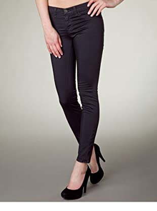 J Brand Hose Japanese Twill Low Rise Pencil Leg (Anthrazit)