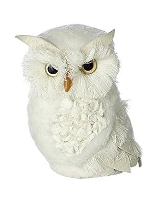 Sage & Co. Small Felt Feather Owl