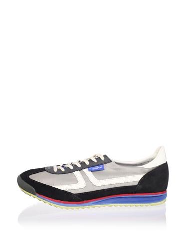 John Lennon Men's Revolution Sneaker (Grey)
