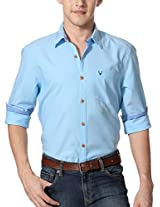 Allen Solly Pleasant Toned Shirt With Contrast Button Detail