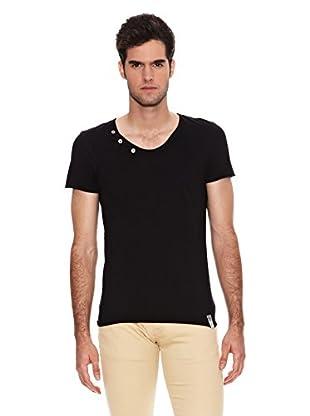 Six Valves Camiseta Manga Corta (Negro)
