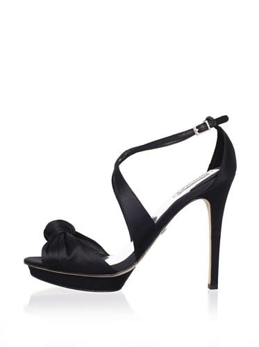 Badgley Mischka Women's Wallis II Platform Sandal (Black)