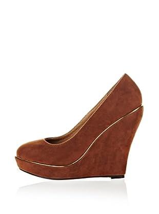 Buffalo Girl Zapatos Sy Suede (Marrón)