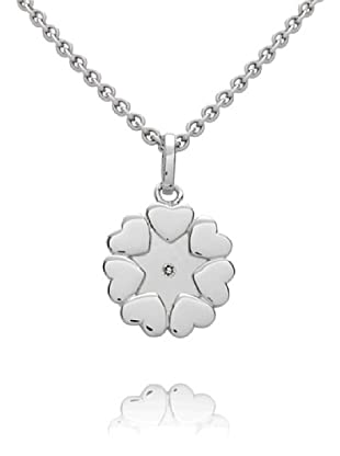 Secret Diamonds Colgante Corazones Plata 925 Diamante