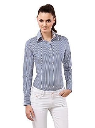 Vincenzo Boretti Camisa Mujer Slim-Fit, Easy Iron