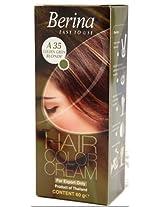 Berina Hair Color Cream A 35(Golden Green Blonde)