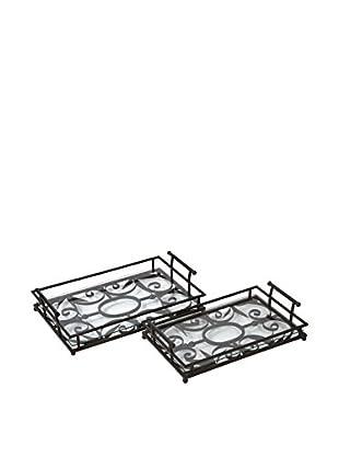 Set of 2 Eden Trays