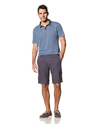 nüco Men's Panama Shorts (Indigo)