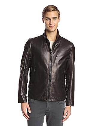 Andrew Marc Men's Dorset Slick Leather Jacket