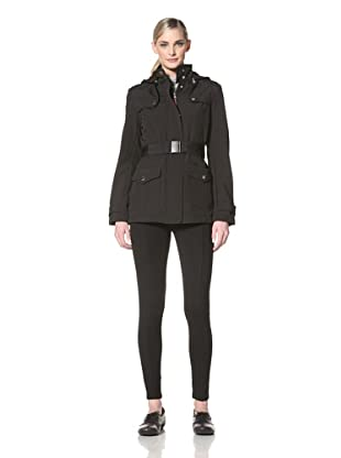 Tommy Hilfiger Women's Fleece Lined Jacket (Black)