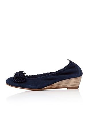 Bisue Zapatos  Cuña (Marino)
