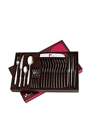 Guy DeGrenne 24-Piece Cadence Flatware Set, Contrast