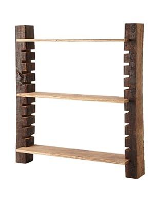 The HomePort Collection Unysn Elm Wall Shelf, Short