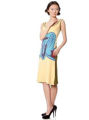 Custo Vestido (Amarillo)