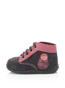 Kickers Kid's Bibouchka Shoe (Marine)
