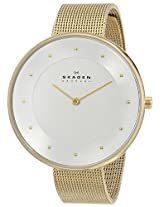 Skagen Gitte Analog Silver Dial Women's Watch - SKW2141