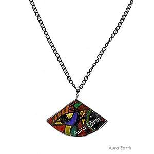 AUrA-EArTH Retro Pendent 4 Necklace