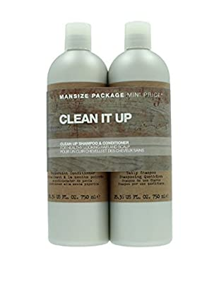 Tigi Haarpflege Kit 2 tlg. Set For Men Clean It Up
