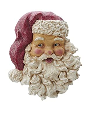 Kurt Adler Paper Pulp Santa Head Wall Piece