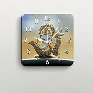 FurnishFantasy Lord Ganesha Wall Clock