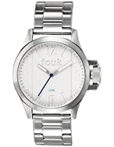 FCUK Analog White Dial Men's Watch - FC1162SMGJ