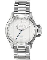 FCUK Analog White Dial Men's Watch - FC1162SMGJ