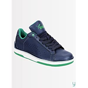 Puma Men Evo NM 35296904 New Navy Leprechaun Green Sports Shoes