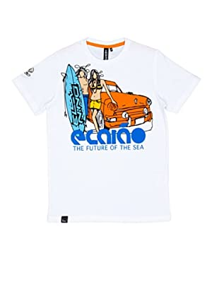 El Niño Camiseta Manga Corta The Future (blanco)