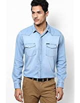 Blue Denim Shirt Pepe Jeans