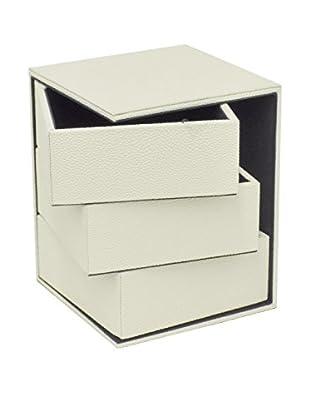 Three Hands Ivory 3-Drawer Box
