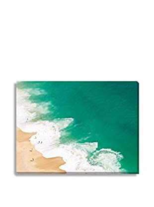 Photos.Com By Getty Images Aerial View Of Beach, Nazare, Portugal By David Lopes On Canvas