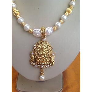 Antique kundan temple laxmi jewellery