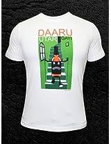 Daaru Utar Gayi Round Neck T-Shirt
